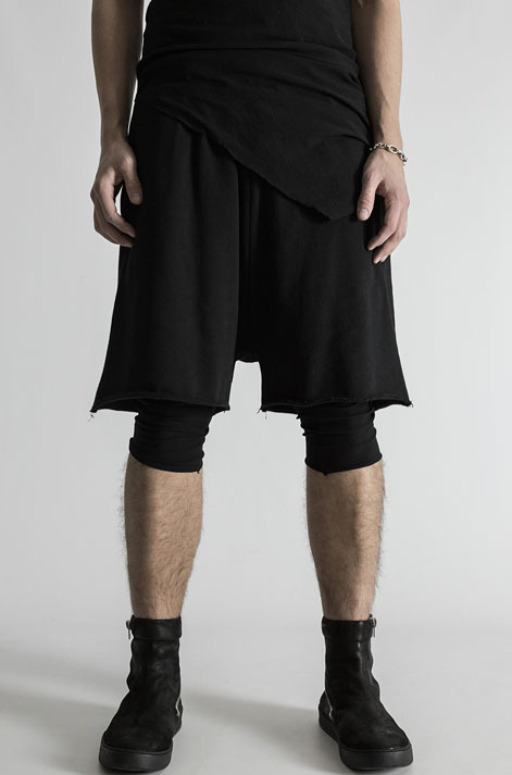 1a84290db2 FIRST AID TO THE INJURED SPINE SHORTS BLACK