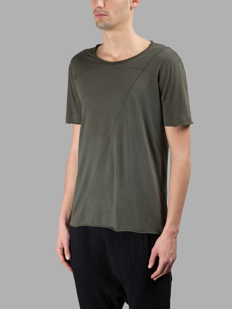 aaeffde4f7c VICTIMS store - THOM KROM T-SHIRT GREEN MILITARY - MENS CLOTHING ONLINE