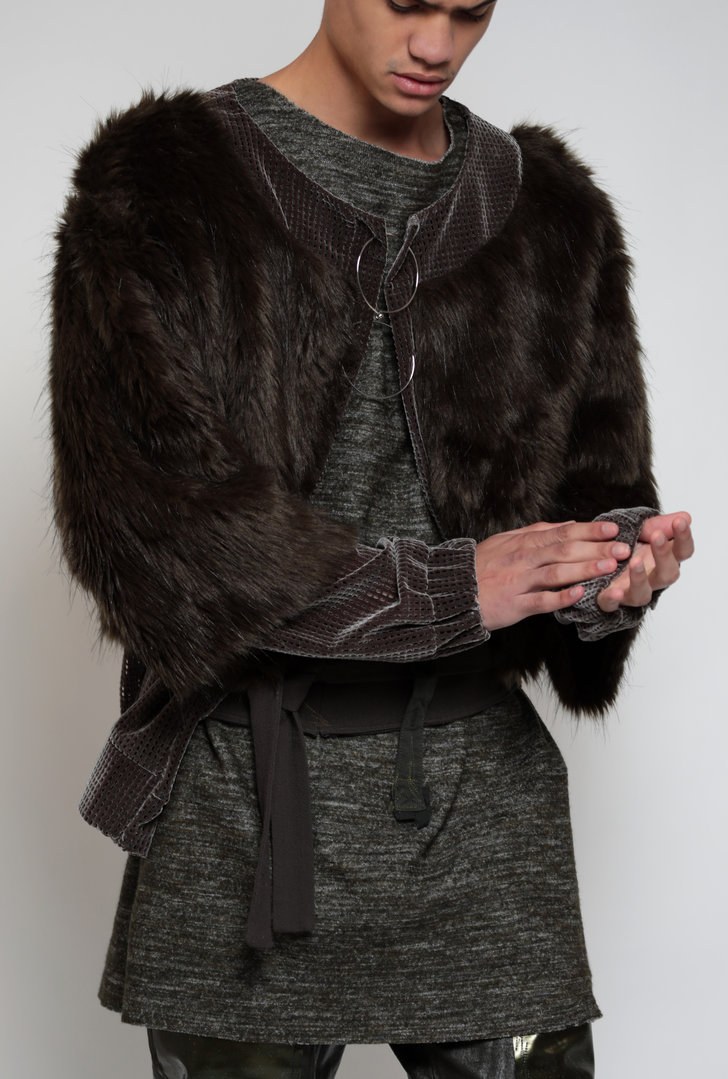 VISORI FUR JACKET