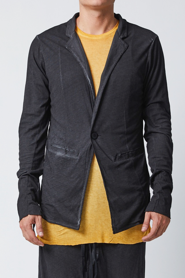 THOM KROM JACKET BLACK OIL