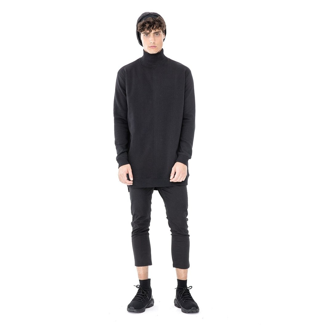HESHEME SWEATSHIRT SAM BLACK