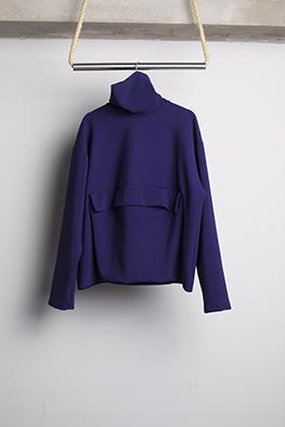 HUGO COSTA  HIGH COLLAR SWEATER