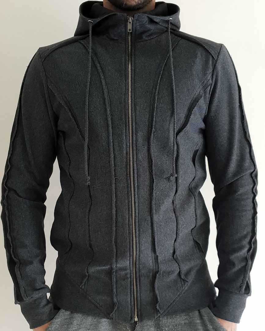 TRAY STYLING DARK ARMY HOOD JACKET