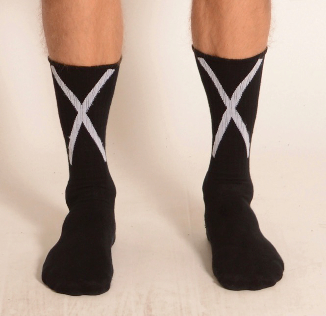 THOM KROM BLACK SOCKS