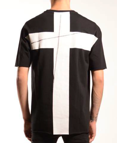 PRE-ORDER (ESTIMATED DELIVERY JUL-30) THOM KROM BACK CROSS T-SHIRT