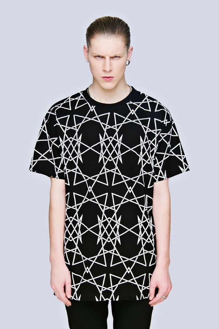 LONG CLOTHING T-SHIRT INFINITY TEE BLACK