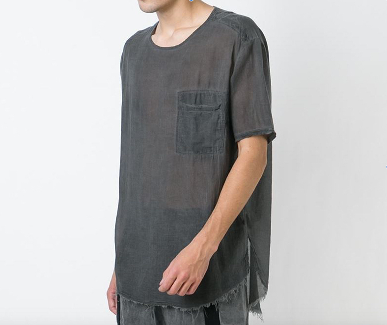 LOST & FOUND ROOMS OVER T-SHIRT BLACK