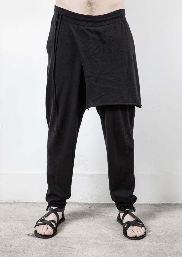 DELUSION KANZA TROUSER KNITTED PANTS WITH SKIRT