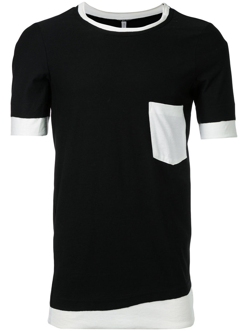 FIRST AID TO THE INJURED CORNEA T-SHIRT BLACK/WHITE