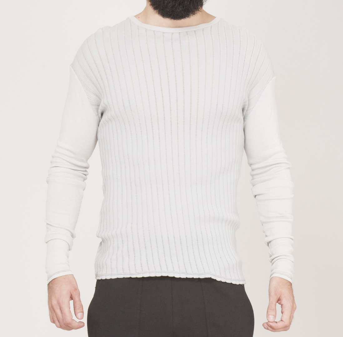 TRAY STYLING LONG SLEEVE CANALÉ TEE