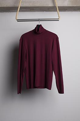 HUGO COSTA HIGH COLLAR BASIC SWEATER