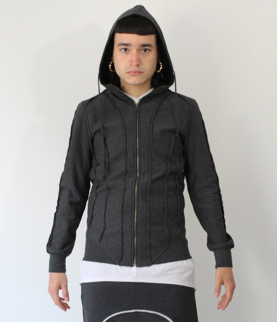 DARK ARMY by TRAY STYLING HOOD ASTRO JACKET
