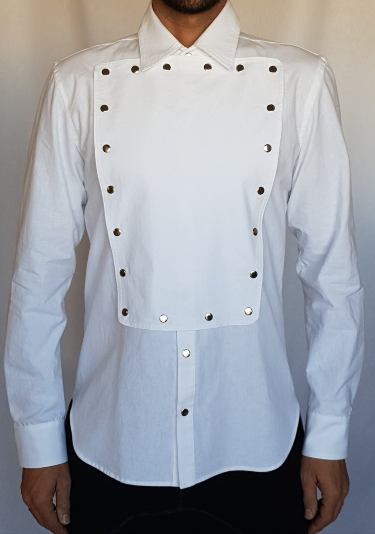 DARK ARMY by Tray Styling SHIRT WHITE