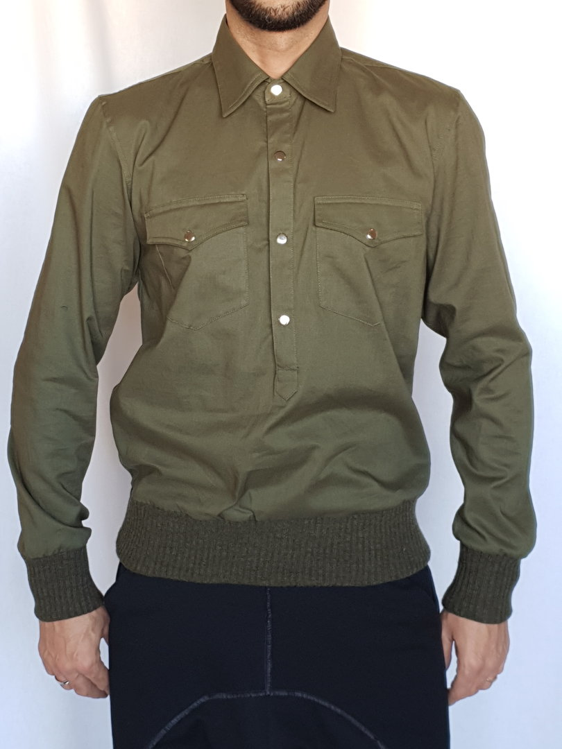 DARK ARMY by Tray Styling SHIRT -SWEATER KHAK