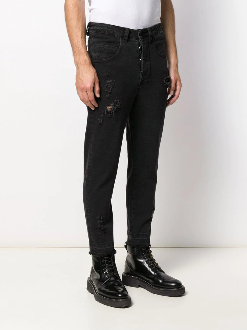 THOM KROM SLIM PANTS BLACK