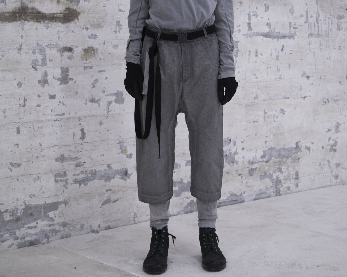 TOBIAS BIRK NIELSEN WILLIAM PANTS GREY COLD