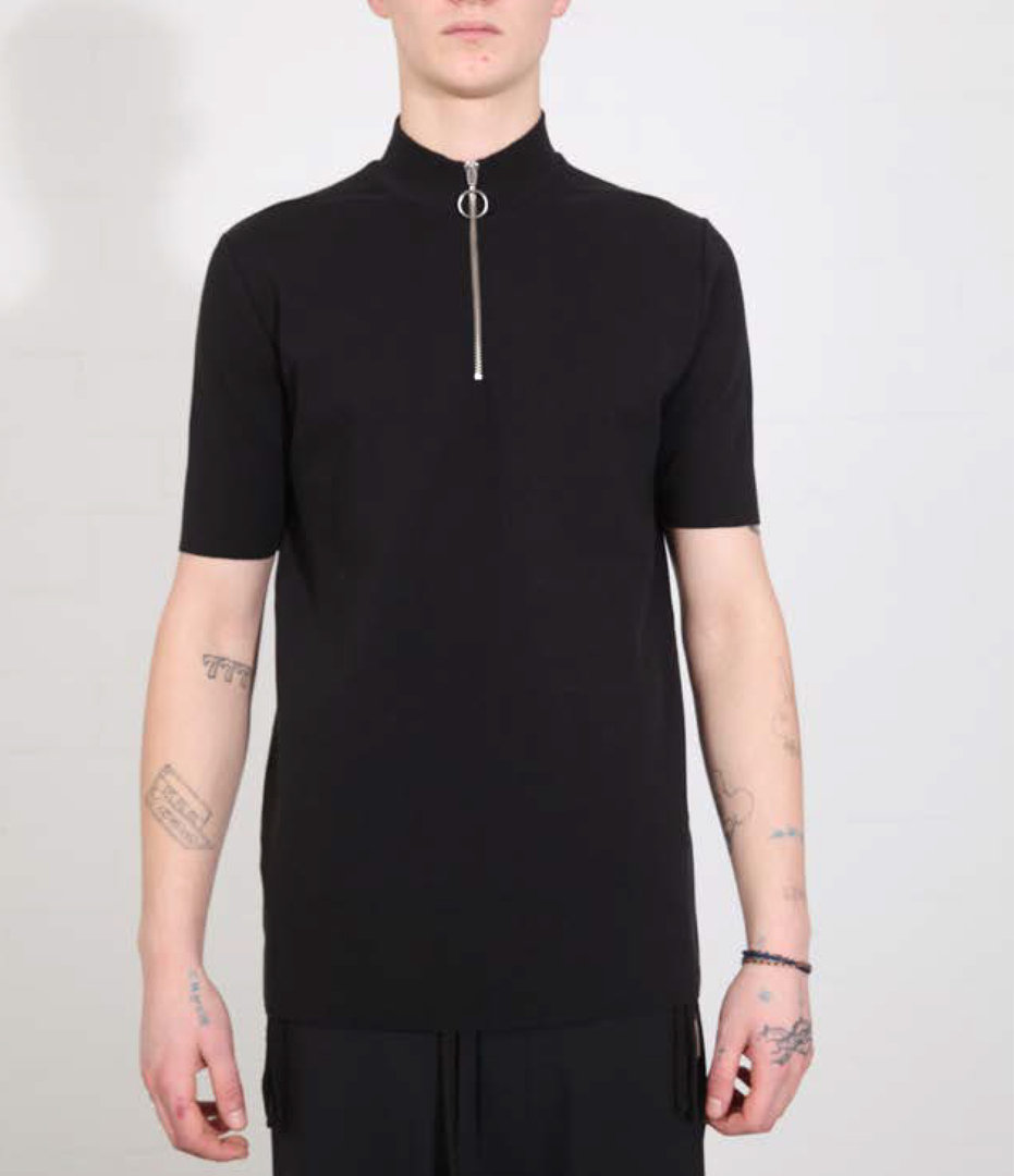THOM KROM POLO BLACK