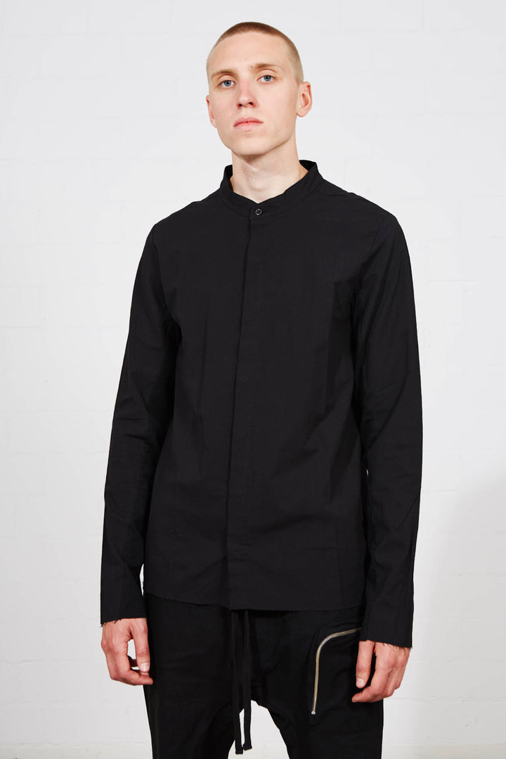 THOM KROM MAO SHIRT BLACK