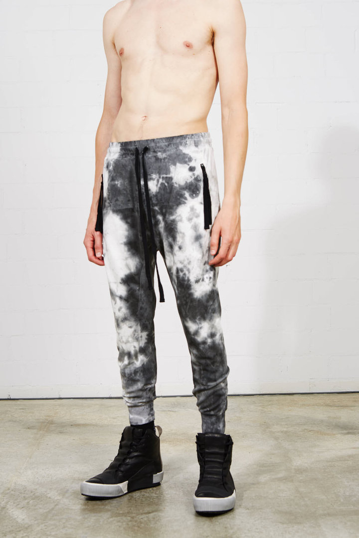 THOM KROM WOVEN MARBLE PANTS